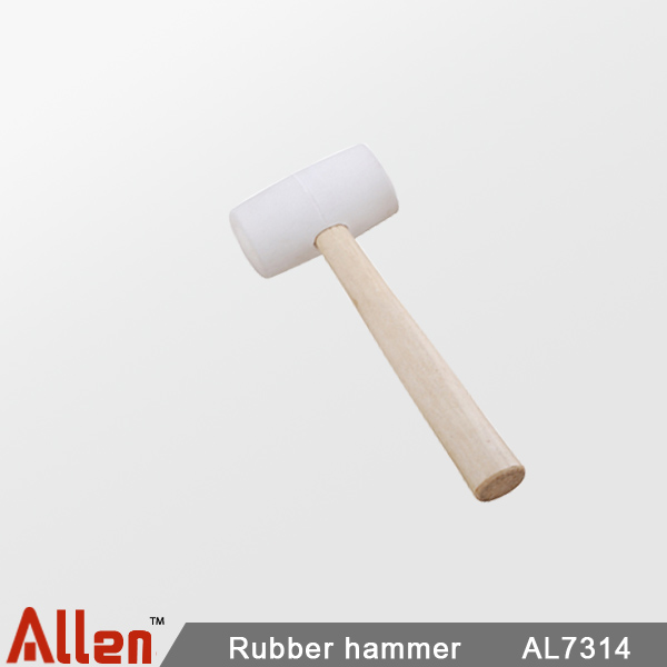 Rubber hammer  |  Arco metálico ajustable