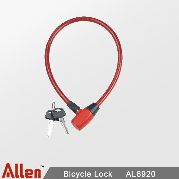 Bike lock  |  Candados de cable con llave