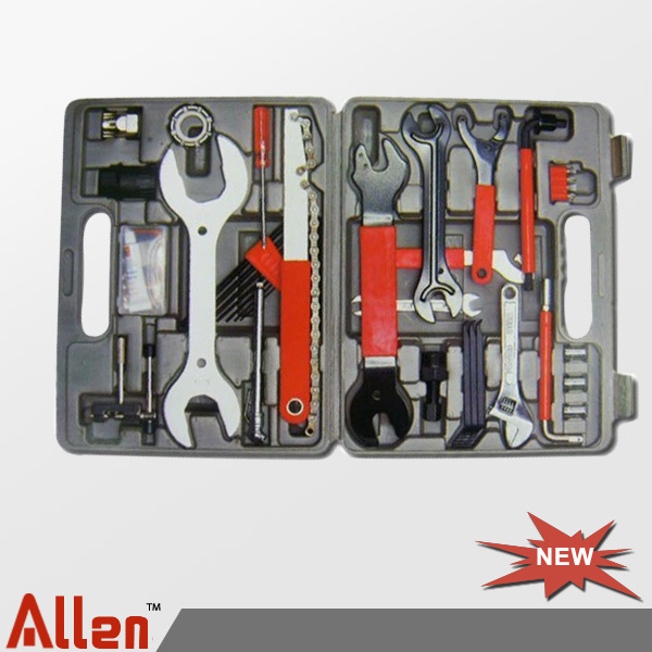 Bike repair tools set