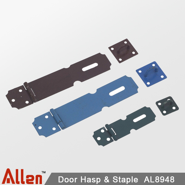 Door hasp & staple